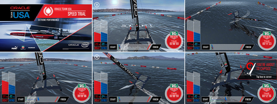 Virtual Eye Oracle Team Usa Speed Trial